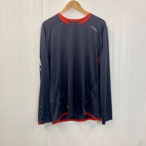 BROOKS XL men's long sleeve athletic shirt